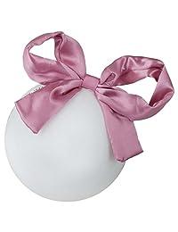 Zelda Matilda 超大号礼品蝴蝶结可调节头带 - 适合女孩和婴儿的华丽头带 - 可调节,完美贴合