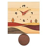 旭川家具 工房贴纸 木质摆件手表 J13