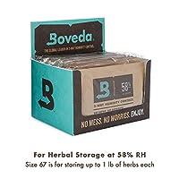 Boveda Retail Cube Humidifier/Dehumidifier, 60gm, 12-Pack