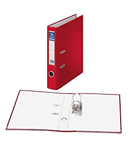 Dohe Archicolor 文件文件夹,薄膜大小,窄背,红色