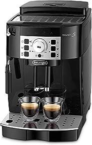 De'Longhi 德龙 全自动咖啡机Magnifica S ECAM 22.110.B – 配有奶泡器 直选键和控制旋钮 2杯功能 1.8升大水箱 35.1 x 23.8 x 43厘
