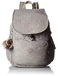 Kipling BP3872-021 Women's Ravier Dusty Grey Nylon Large Backpack