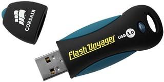 Corsair USB 3.0 Flash Voyager Flash Drive Corsair USB 3.0 Flash Voyager Flash Drive Black, Blue 128 GB