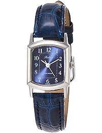 CITIZEN Q&Q(シチズン Q&Q) 女士 腕時計 チープシチズン、革ベルト、カジュアルQA69-305 指針 革バンド ベルトタイプ??- 藍色 QA69-305
