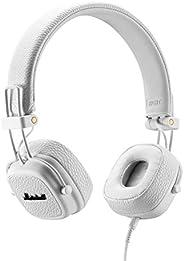 Marshall 马歇尔 Major III 折叠式耳机,白色