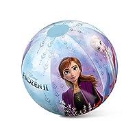 大型 Disney 冰雪奇缘充气游泳池玩具沙滩球 50 厘米