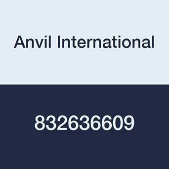 Anvil International 0832636609 超重表 80 黑色钢无缝管奶嘴,5.08 厘米 x 15.24 厘米