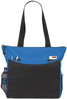 eBuyGB 单肩手提包 购物和学校/大学包 蓝色 Einheitsgröße