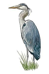"Blue Heron - 图标 ""Multi"" 16 x 24 Giclee Print LANT-71175-16x24"