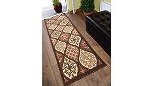 SavaHome 防滑小地毯 防滑地毯 橡胶背垫 防滑地毯 Sp2717 2'X7'