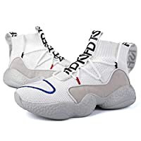 Wilindun(美国) 爆款秋冬季飞织情侣运动鞋可加绒迷彩底可选35-44