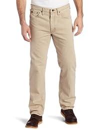 Lee 男士标准修身直筒牛仔裤 Dune 42W x 32L