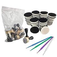 Tim Holtz - Ranger - 墨水迷你墨水混合工具大包 Foam replacement, handles and detail tools NB*miniblendingtoolandfoam