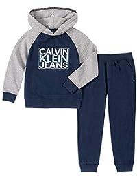 Calvin Klein 男童套頭褲2件套