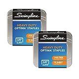 Swingline 大容量订书钉,0.95 厘米裤脚长,2,500/盒 35550,2 包