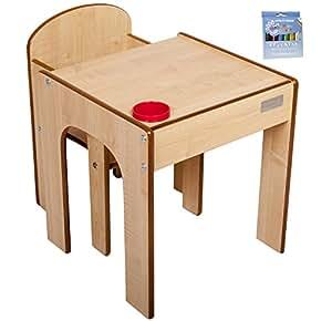 小助手木制 artstation–一套4合1带木制 artstation 婴幼儿桌上, blackboard 和画架双面