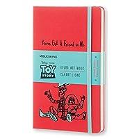 Moleskine 限量版《玩具总动员》笔记本 - 天竺葵红色横线 (大型)