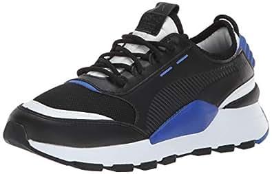 PUMA 儿童 Rs-0 808 Ps 运动鞋 Puma Black-puma 黑色 puma 白色 3.5 Big Kid