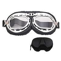 摩托车护目镜复古骑行头盔眼镜防刮防尘巡洋舰摩托车眼镜盒包装