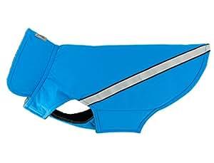 RC Pet Products 西海岸雨衣雨衣雨衣,羊毛内衬,防水,反光狗狗外套 青色 12