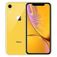 【2018新款】Apple 苹果 iPhone XR 128G 黄色 6.1英寸 移动联通电信4G手机 双卡双待 套装版【含chirslain清洁套装+钢化膜】