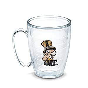 Tervis Wake Forest Vault Emblem Individually Boxed Mug, 16 oz, Clear