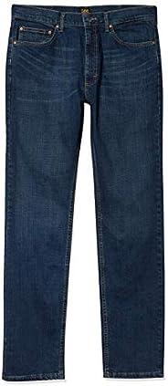 Lee 精選經典款男士直筒牛仔褲