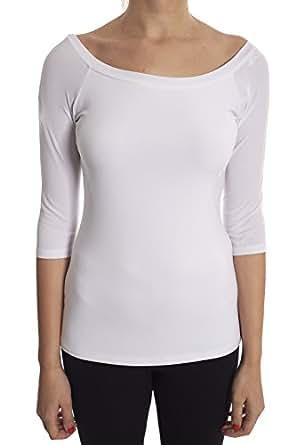 Joseph Ribkoff 弹力白色束腰衬衫款式 173111 香草色 12