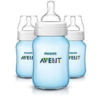 Philips AVENT 防胀气奶瓶 3 件套 蓝色 9 盎司