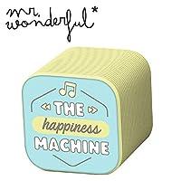 便携式扬声器/耳机 - Original Mr Wonderful 无线扬声器 幸福 Bluetooth Speaker