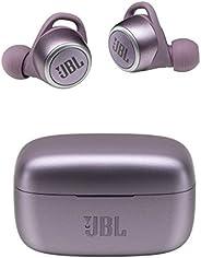 JBL LIVE300TWS 完全无线耳机 支持应用/IPX5/蓝牙/触屏操作/支持语音功能/紫色【国内正规品/厂家1年质保】