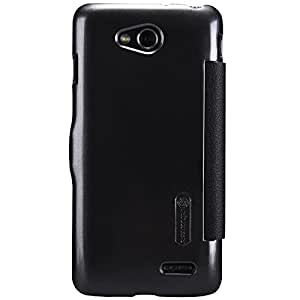 Nillkin Fresh Series Leather Case for LG L90(D415) - Retail Packaging - Black