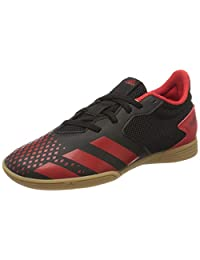 adidas 阿迪达斯 中性成人 Predator 20.4 in Sala J 足球鞋, Black, 2.5 UK
