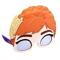 官方*迪士尼冰雪奇缘 II 公主安娜人物太阳镜,即刻服装派对喜爱眼影 UV400