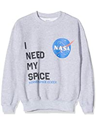 品牌限量女孩 NASA I Need My Space 连帽衫
