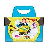 Crayola 绘儿乐画颜料盒,可水洗颜料和绘画用品,工艺套装,75 件,适*为儿童复活节礼物