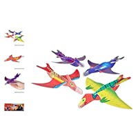 (48) Dinosaur Gliders ~ ASSORTED DESIGNS ~ GREAT PARTY FAVOR ~