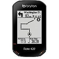 Bryton Rider 420E 无线 GPS GNSS/ANT+ BLE 自行车自行车骑行计算机