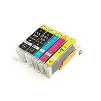 壹诺 佳能 CANON PGI-850BK/CLI-851C/M/Y 2黑3彩墨盒套装 佳能MG6380/IP7280/IX6780/850打印机墨盒(供应商直送)