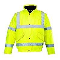 Portwest 高能见度夹克,黄色 黄色 XXXX-Large S463YER4XL