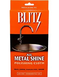 Blitz 20613 2-Pack All Metal Shine Polishing Cloth