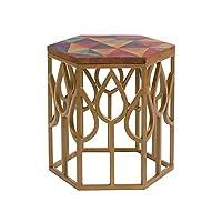 BigBuy Home 边桌(45 x 45 x 45 厘米),芒果木,多色,均码