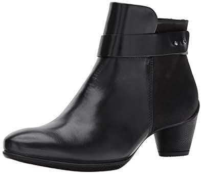 ECCO Sculptured 45 女士及踝靴 黑色/黑色 35 EU / 4-4.5 US