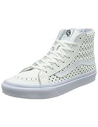 VANS 中性款 sk8-hi SLIM (perf Stars) 滑板鞋