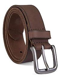 Timberland 男式35mm 经典牛仔裤腰带配件–深棕色