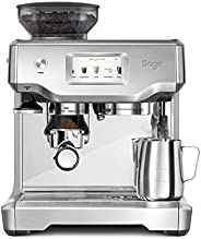 Sage Appliances 半自动意式浓缩咖啡机 LCD 触控操作/1680 W/内置磨豆机/9 bar压力萃取