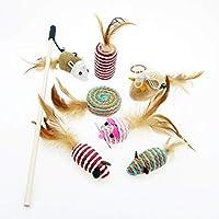 Alfie Pet - Jordi 7 件套猫玩具小猫玩具组合