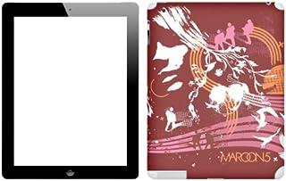 Zing Revolution Maroon 5 Premium Vinyl Adhesive Skin for iPad 2 (ms-M520250)