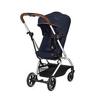 CYBEX Gold 婴儿车 Eezy S Twist+,360°旋转座椅,超小巧,重量轻,出生至17公斤(约 4 岁) 蓝色