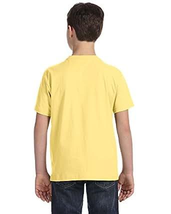 LAT Youth Fine Jersey T-Shirt, Small, BUTTER